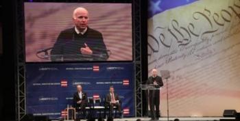 Sen. John McCain Shreds Trump In Liberty Medal Acceptance Speech