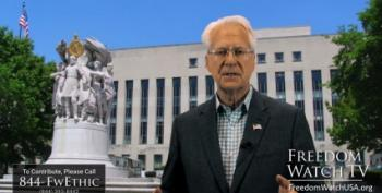 YouTube Crazy Larry Klayman Wants Job Jailing Obama And Clintons For Trump