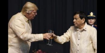 Philippines' Abusive Leader Duterte Sang A Love Song To Trump