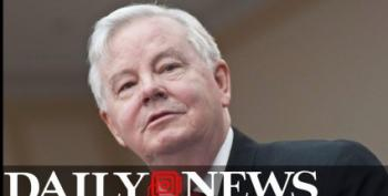 Texas Teabagger Rep. Joe Barton Caught With His Pants Down -- Er, Off