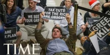 Americans Dragged Out Of Senate Hearing On GOP Tax Bill