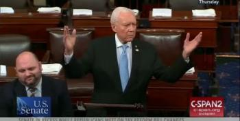 Orrin Hatch Bemoans 'Freeloaders' Threatening The CHIP Program
