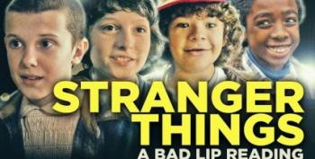 Open Thread - 'Bad Lip Reading' Takes On 'Stranger Things'