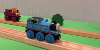 Open Thread - Toy Train Tricks Go Viral