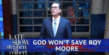 Open Thread - Look Roy Moore!  It's GOD!