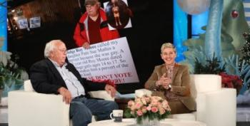 Ellen Welcomes Alabama Hero Dad Nathan Mathis To Her Show