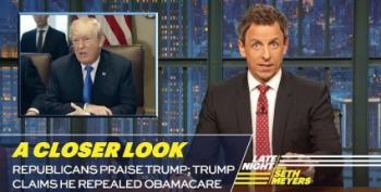 Seth Meyers Hilariously Smacks GOP For Their Dear Leader Worship