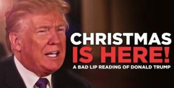 Midday Open Thread - Bad Lip Reading Does Trump's Christmas