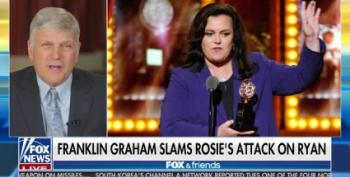 Franklin Graham Attacks Rosie O'Donnell For Damning Paul Ryan: 'Only Jesus' Has 'Keys To Hell'