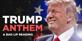 Open Thread - Bad Lip Reading Does Trump's Anthem