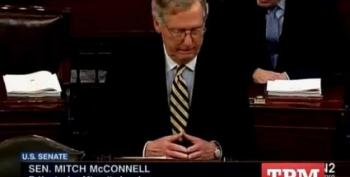 Sen. Mitch McConnell Filibusters His Own Debt Ceiling Bill