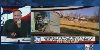 Alex Jones: Train Crash Was 'Kamikaze' Attack On Republicans