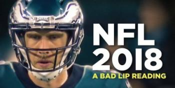 Open Thread - Bad Lip Reading's NFL 2018