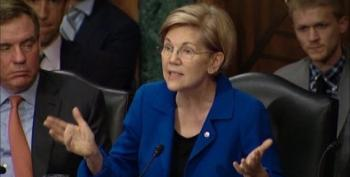 Elizabeth Warren Warns WH May Be Letting Equifax Off The Hook For Data Breach