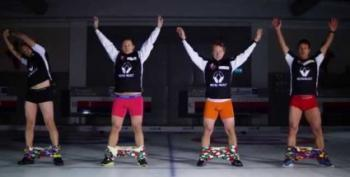 Open Thread - Hands-Free Pants With The Norwegian Curling Team