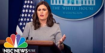 Huckabee Sanders Pronounces Media A Danger To National Security