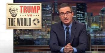 John Oliver:  Trump Is Weakening America Overseas