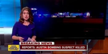 Austin Bomb Suspect Blew Himself Up During FBI Raid Today