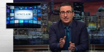 John Oliver Takes Aim At Sinclair Broadcasting Group