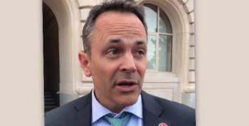 Governor Matt Bevin (KY) Blames Teachers' Strike For Imagined Child Assault