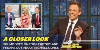 Late Night Comedians React To 'Trump On Fox And Friends'