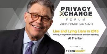 Al Franken Is Back!  Slams Facebook At Cybersecurity Conference