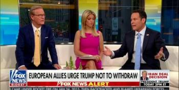 Even Fox And Friends Tried A Last Minute Appeal To Keep Trump From Leaving The Iran Deal
