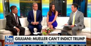 Judge Napolitano Rebukes Rudy Giuliani On Fox And Friends