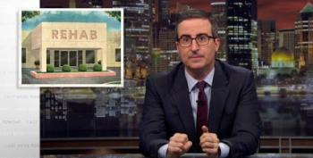 John Oliver: Rehab's Unregulated Gold Mine Is Pee