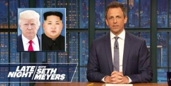 Seth Meyers Amazed Kim Jong-un Brought Own Toilet To Summit