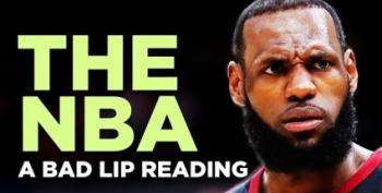 Open Thread - Bad Lip Reading Meets The NBA