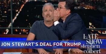 Jon Stewart Rips Trump For 'Gleeful Cruelty And Dickishness'