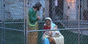 Church Puts Baby Jesus In Cage: 'We Placed The Holy Family...in #ICE Detention'