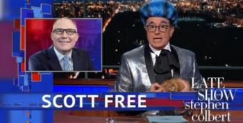Cesar Flickerman (Colbert) Bids A Toxic Adieu To Scott Pruitt