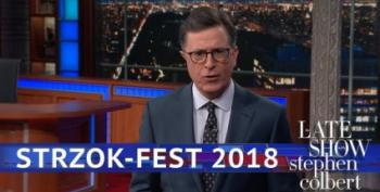 Stephen Colbert: 'The Capital Dome Became A Thunderdome'