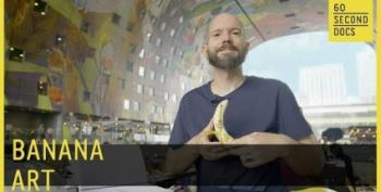 Open Thread:  Banana Art!