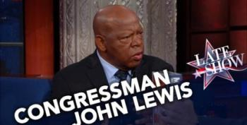 Rep John Lewis Hospitalized After Falling Ill On Plane--UPDATED