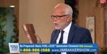 Old Fraud Jim Bakker Claims Trump Opponents To 'Assassinate' Christian Leaders