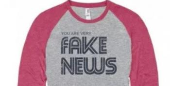 Sign Of The Times: Newseum's Pandering By Selling 'Fake News' Shirts