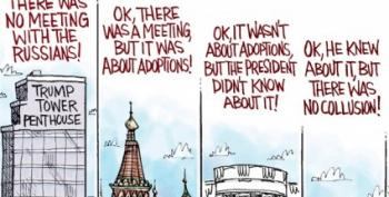 Open Thread - Don Junior Cartoon Round Up!
