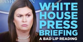 Happy Friday: 'Bad Lip Reading' Does Sarah Huckabee Sanders