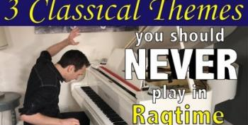 Open Thread - Classical To Ragtime, And They Said It Can't Be Done!