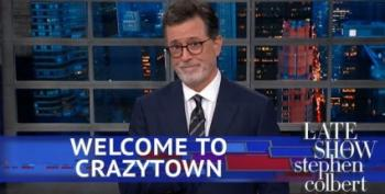 Stephen Colbert Describes The 'Crazy Rich Caucasians' In White House