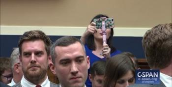 White Nationalist Laura Loomer's Disruption Disrupted By Rep. Long's Auctioneering