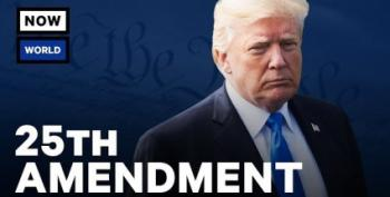 What The 25th Amendment Says About Presidents Who Are 'Unable' To Serve