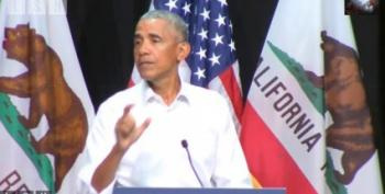 Obama Rouses Orange County Dems To Get Out The Troops For The Midterms