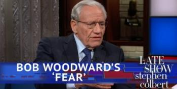 Bob Woodward Tells Colbert His Greatest Fear Is Knowing Trump Is 'Incapable Of Telling The Truth'