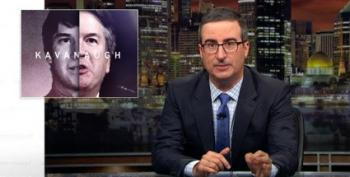 John Oliver Shreds Brett Kavanaugh's 'Terrifying' Hearing Statements