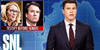 SNL's 'Weekend Update' Actually Made Serious And Best Case Against Kavanaugh