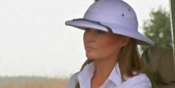 What's With Melania's Colonialist Cos-Play Through Africa?